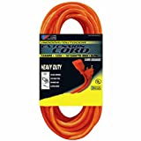 US Wire 63100 14/3 100-Foot SJTW Orange Medium Duty Extension Cord
