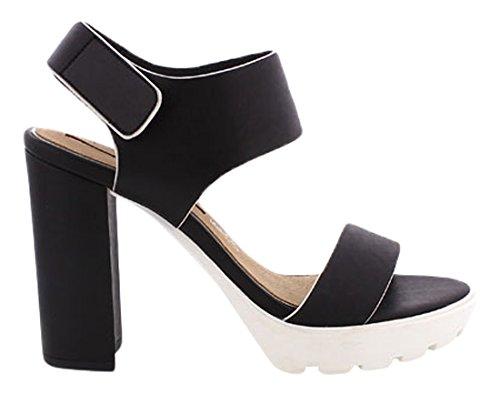 MARIA MARE Donna 66113 Abito scarpe nero Size: 41