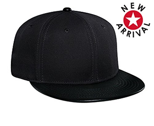 Hats & Caps Shop Wool Blend Leather Flat Visor Pro Style Snapback Caps - By TheTargetBuys