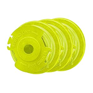 Ryobi Replacement Twisted 0.080 Auto Feed Line Spools (3-Pack)
