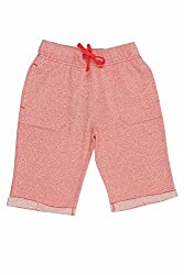 Ajile by Pantaloons Boy's Cotton Shorts (205000005612091, Red, 15-16 Years)