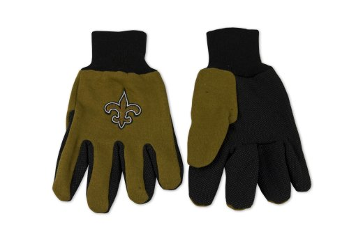 New Orleans Saints Two-Tone Gloves at Amazon.com