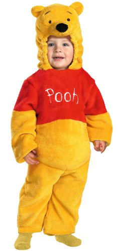 [Winnie The Pooh Deluxe Costume - Toddler Medium] (Baby Piglet Costumes)