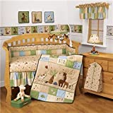 Jungle Parade 4-pc. Crib Bedding Set