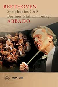 Abbado / Beethoven : Symphonies 3 & 9 (2pc) [DVD] [Import]