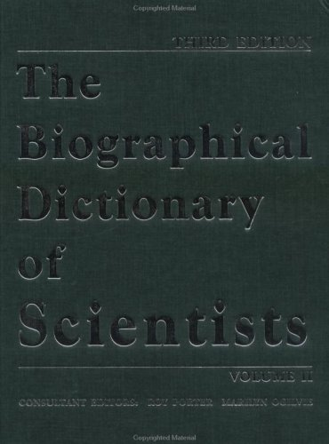 The Biographical Dictionary of Scientists