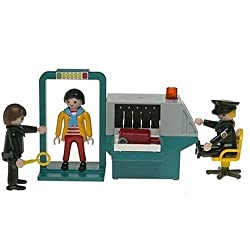Funny product Playmobil Security Check Point