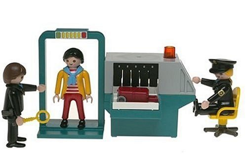 Playmobil Security Check Point