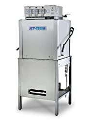 Jet-Tech Systems X-35C Stainless Steel Door Type Single Tank Low Temperature Convertible Ware Washer by Jet-Tech+Systems