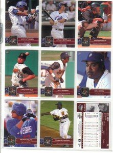 2007 PCL All-Stars Florida Marlins Team Set MINT 5 Cards by Multi-Ad