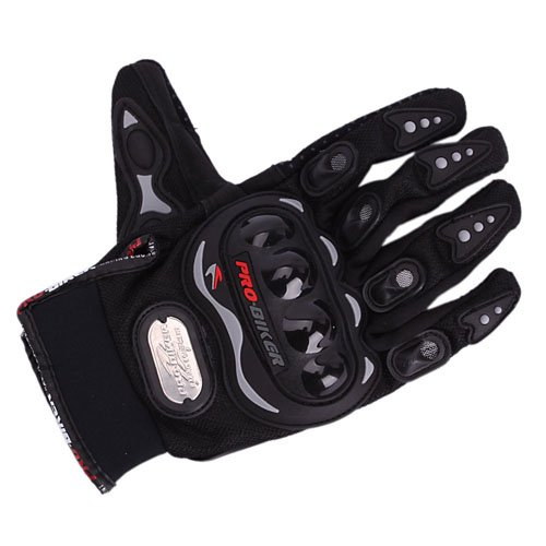 Bicycle/Motorcycle Riding Protective Gloves Black XL