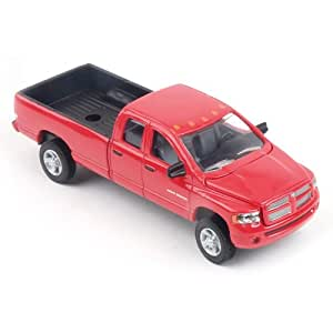 Amazon Com Dodge Ram Pick Up Toy Truck Red Toys Amp Games