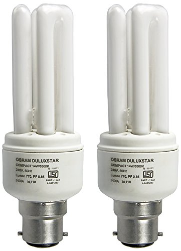 Osram 14 Watt Mni Stick CFL Bulb (Cool Day Light,Pack of 2) Image