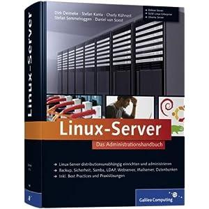 eBook Cover für  Linux Server Das Administrationshandbuch Galileo Computing