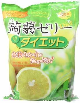 蒟蒻ゼリー・ダイエット グレープフルーツ 12個 (6入り)