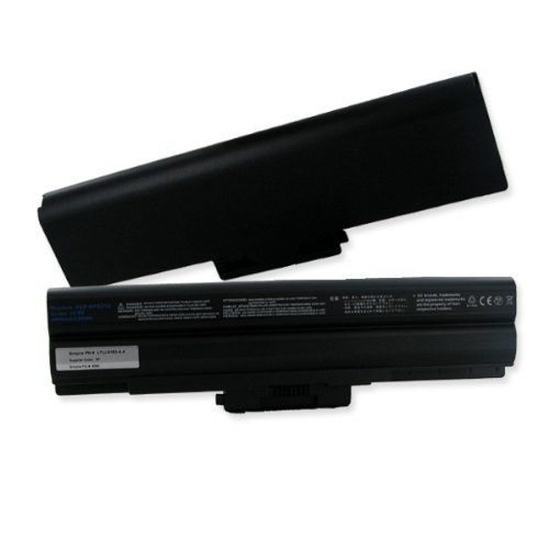 4400mA, 10.8V replacement Li-Ion battery for Sony VAIO VPC-CW1AHJ laptops - Empire Methodical #LTLI-9185-4.4