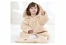 LOLITA Baby Sleep sacks fall winter protects children sleep blankets (110cm, complexion)