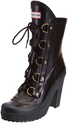 Hunter Women's Gabby Black Wellington Boot W24543 3 UK