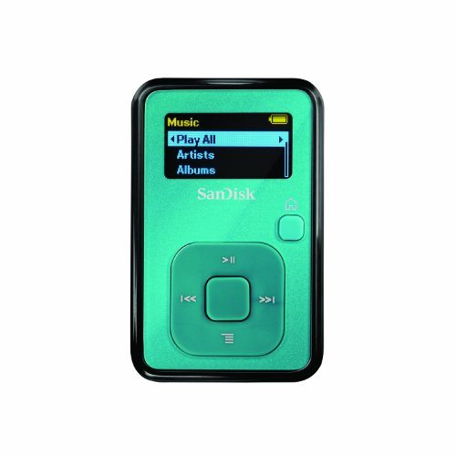 SanDisk Sansa Clip 4 GB MP3 Player (Teal)