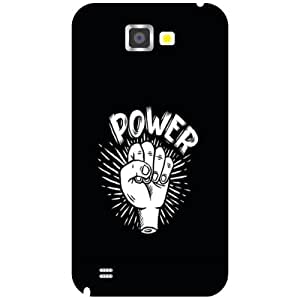 Samsung Galaxy Note 2 N7100 Back Cover - Power Designer Cases