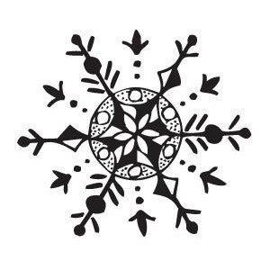 Snowflake 1 Stamp