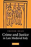 img - for Crime and Justice in Late Medieval Italy book / textbook / text book