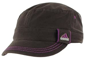 adidas Women's Country Military Cap (Dark Brown/Ultra Purple, One Size Fits All)