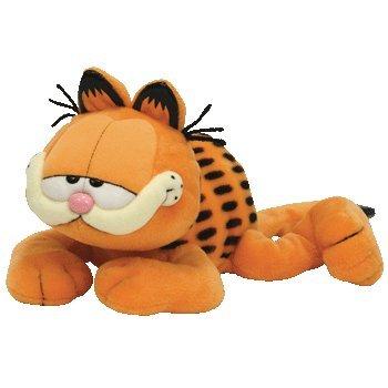 TY Beanie Buddy - GARFIELD the Cat (Sleeping Version)
