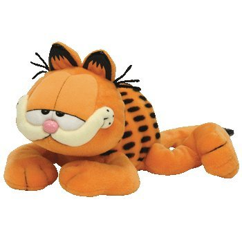 TY Beanie Buddy - GARFIELD the Cat (Sleeping Version)