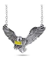 Famous Harry Potter Flying Hedwig Necklace By Via Mazzini