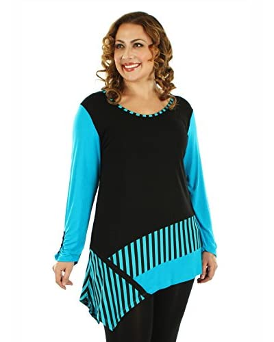 Aster by Firmiana Plus Women's Color Pop Tunic