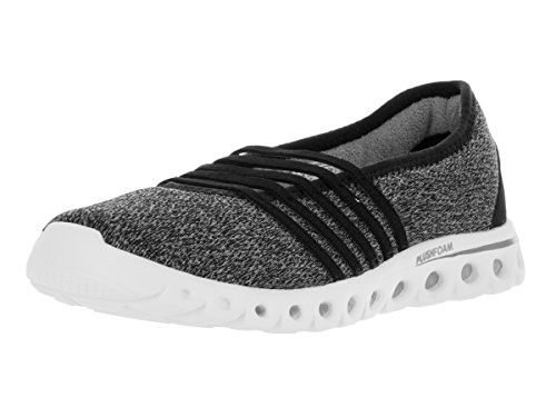 K-Swiss Women's X Lite MJ CMF Black/Neutral Gray Casual Shoe 8.5 Women US