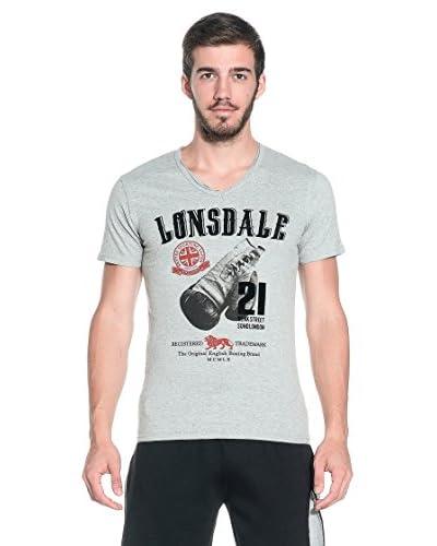 Lonsdale T-Shirt Manica Corta Hillsboro [Grigio]