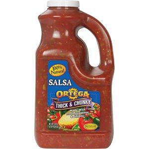 Ortega Medium Thick and Chunky Salsa by Ortega