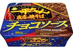 明星 一平ちゃん夜店の焼そば チョコソース 110g x 3個