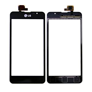 ePartSolution-OEM LG Escape P870 Touch Screen Digitizer Touch Screen Outer Top Glass Black Replacement Part USA Seller