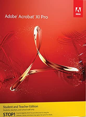 Acrobat Professional XI Student Teacher Edition for Mac [Download]