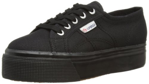 Superga 2790Acotw Linea Up And Down, Sneaker, Donna, Nero (996 Full Black), 38