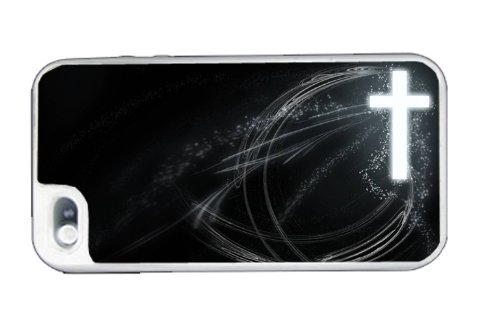 Cross Frees Christian - Best 3 in 1 cell phone case for iPhone 4, iPhone 4S - WHITE at Amazon.com