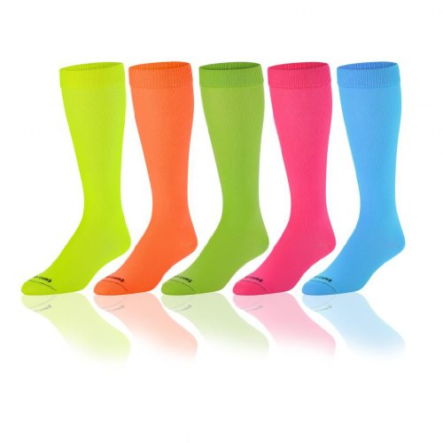 Krazisox Neon Over the Calf Socks
