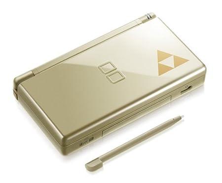 Legend of Zelda Gold Triforce DS Lite