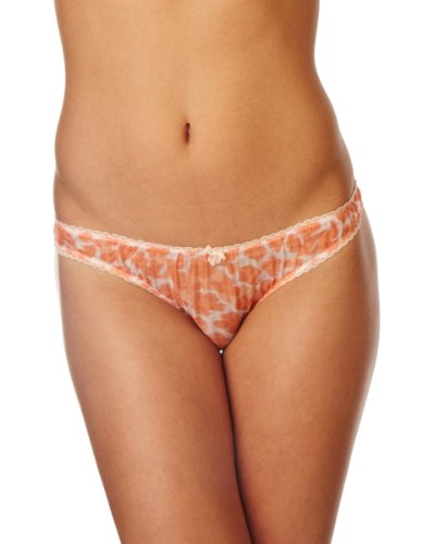 Mimi Holliday Meringue Classic Knicker Women's Knickers Peach/Coral X-Small