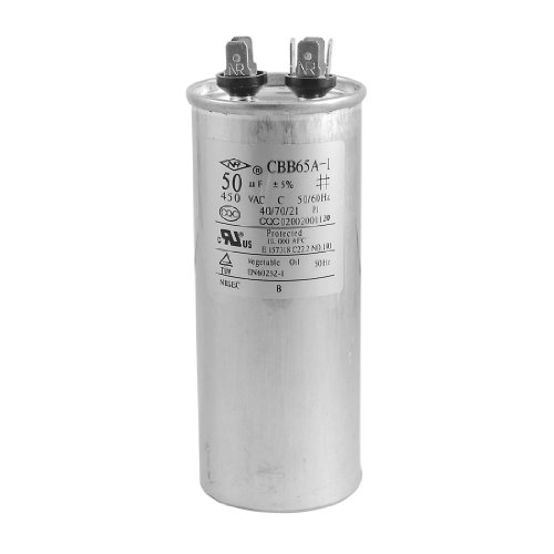 Replacement CBB65A-1 50uF AC 450V Motor Capacitor for Air Conditioner