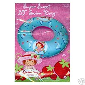 Strawberry Shortcake Super Sweet 20 Inflatable Swim Ring Toys Games