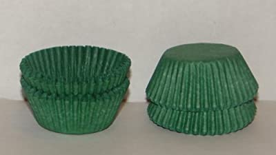 #5 Green Paper Candy Cup Cups 200 Pack Candy Making Supplies