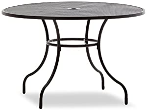 Steel Mesh Dining Table Discontinued By Manufacturer Patio Lawn