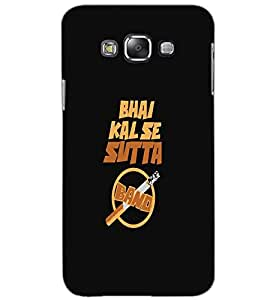SAMSUNG GALAXY GRAND MAX SUTTA BAND Back Cover by PRINTSWAG