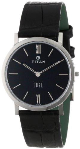 Titan Edge Analog Black Dial Men's Watch - NB679SL02  available at amazon for Rs.7901