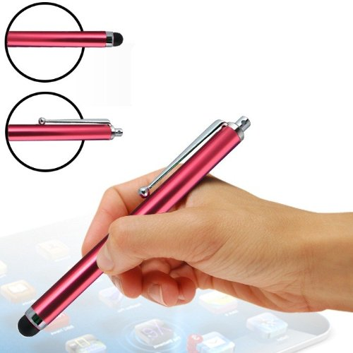 MOBiXi Red High Capacitive Touchscreen Stylus