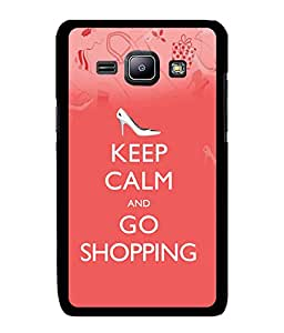 Fuson 2D Printed Quotes Designer back case cover for Samsung Galaxy J1 - D4566